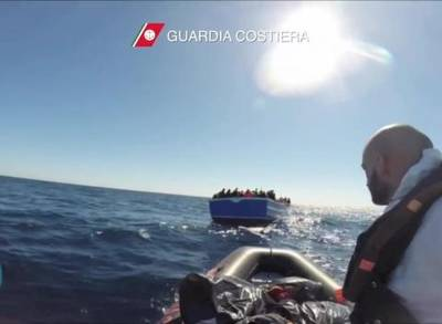 News video: 700 Migrants Feared Dead in Mediterranean Shipwreck